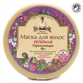 Маска укрепляющая для ломких и ослабленных волос Репейная Рецепты бабушки Агафьи 300 мл 100622