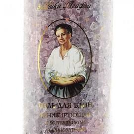 Соль для ванн тонизирующая с боярышником и шиповнтиом Рецепты бабушки Агафьи 800 г 100628