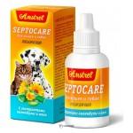 Лосьон для ушей Amstrel Septocare для кошек и собак 106704