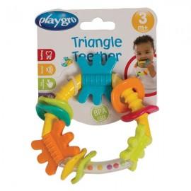 Развивающая погремушка-прорезыватель Треугольник Playgro 4184209